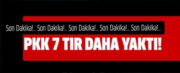 PKK 7 TIR'ı yaktı http://str.cm/URnwXE