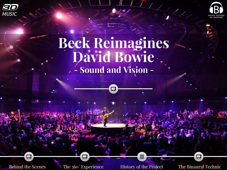 "Beck Reimagines David Bowie - ""Sound and Vision"" - Created on Tactilize"
