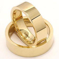 Chanti - 2 gifteringer i 14 karat gull