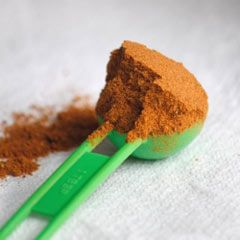 The basis for a good sambar is the spice mix, called sambar powder or sambar masala. This recipe is fairly mild and tasty but more chili can be added.