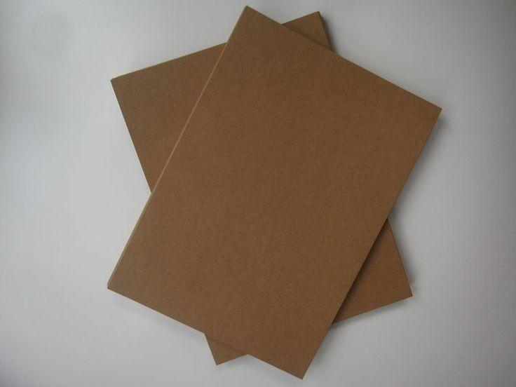 gratis verzending groothandel 20 stuks bruine kraft papier a4 350 grams papier ambachtelijke papier kraft verpakking