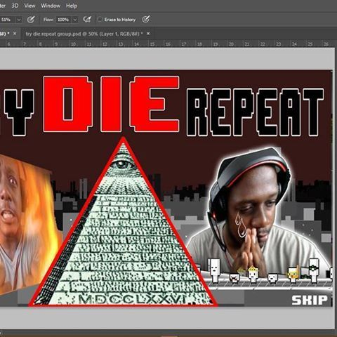"Reposting @tehque_official: Almost done with ""Try Die Repeat"" Expect a great video when it's done , sorry for the delays but I'm sure you guys are tired of me saying that 😅. #trydierepeat #tehque #sounza #youtube #youtuber #youtubegamer #youtubegaming #youtubestream #pewdiepie #bahamian #matpat #jacksepticeye #markiplier #game #gamer #gaming #indiegamer #videogame #illuminati #fun"