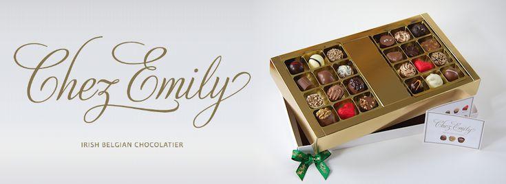 Artisan chocolates handmade in Dublin Ireland by a Belgian chocolatier