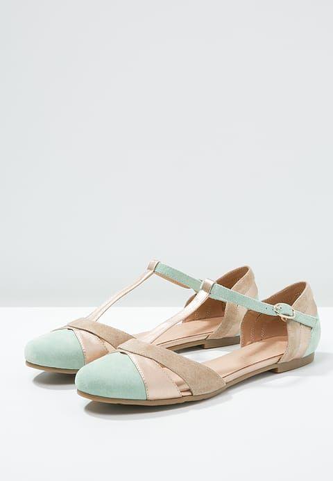 mint&berry Riemchenballerina - mint/rose-gold/beige - Zalando.de