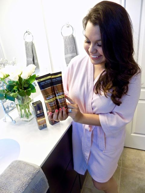 John Frieda Brilliant Brunette® | Tired of over paying for mediocre hair color? You need to try John Frieda Brilliant Brunette brightening shampoo and conditioner! #ad #JohnFriedaUS #RethinkYourColour | Lea Carmen Fashion, Lifestyle, and Travel Blog