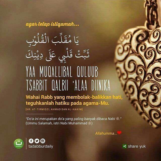 #istiqamah