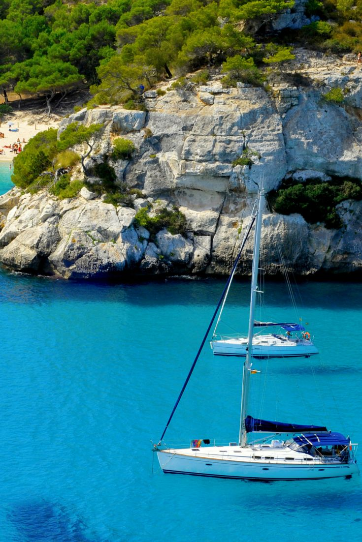 Menorca, the most laid back and tranquil of the Balearic Islands
