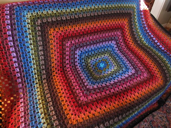 93 Best Crochet Giant Granny Squarerectangle Afghans Images On