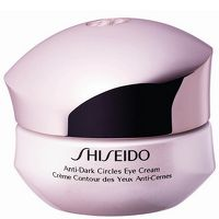 Shiseido The Skincare Anti-Dark Circles Eye This intensive eye cream is formulated with Shiseido uppljusande technology to reduce dark circles under the eyes by targeting the two main causes of dark blue and brown rings: accumulation of pigment http://www.MightGet.com/january-2017-13/shiseido-the-skincare-anti-dark-circles-eye.asp