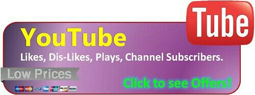 Buy Real YouTube Views, Likes, Dislikes and Subscribers to your videos and  business.  http://likesplanet.com/addcomp.php?packtype=youtube&aaa=1  http://likesplanet.com/promote.php?ref=TheWoodyWoodpecker17