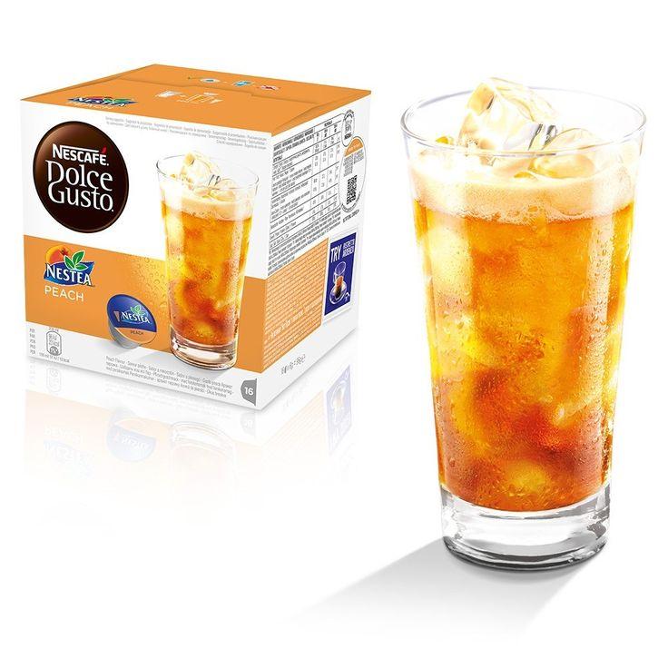 Christer Testar: Dolce Gusto Peach Iced Tea | Christer Holm |  Dolce Gusto Peach Iced Tea | Tea test |  Dolce Gusto Peach | Kaffe | Te | Coffee