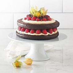 Lucy Bee's Dark Chocolate Cake with Dairy-free Frosting - from Lakeland