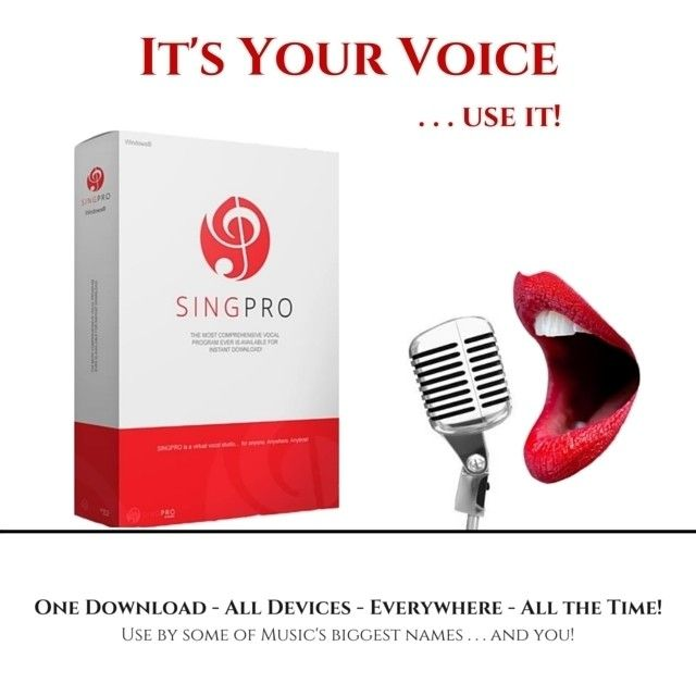 Save hundreds of dollars on vocal programs and in-person vocal training. SINGPRO is designed to give you the freedom of travel and works around YOUR schedule and demands.  If youre an artist you know that every dollar counts. Instead of paying hourly or for vocal lessons regularly now you can get coached by the best for one flat fee.  http://bit.ly/1pFsGPl  #LasVegas #SingPro #VocalCoach #LearnToSing Via http://bit.ly/25BZgD0