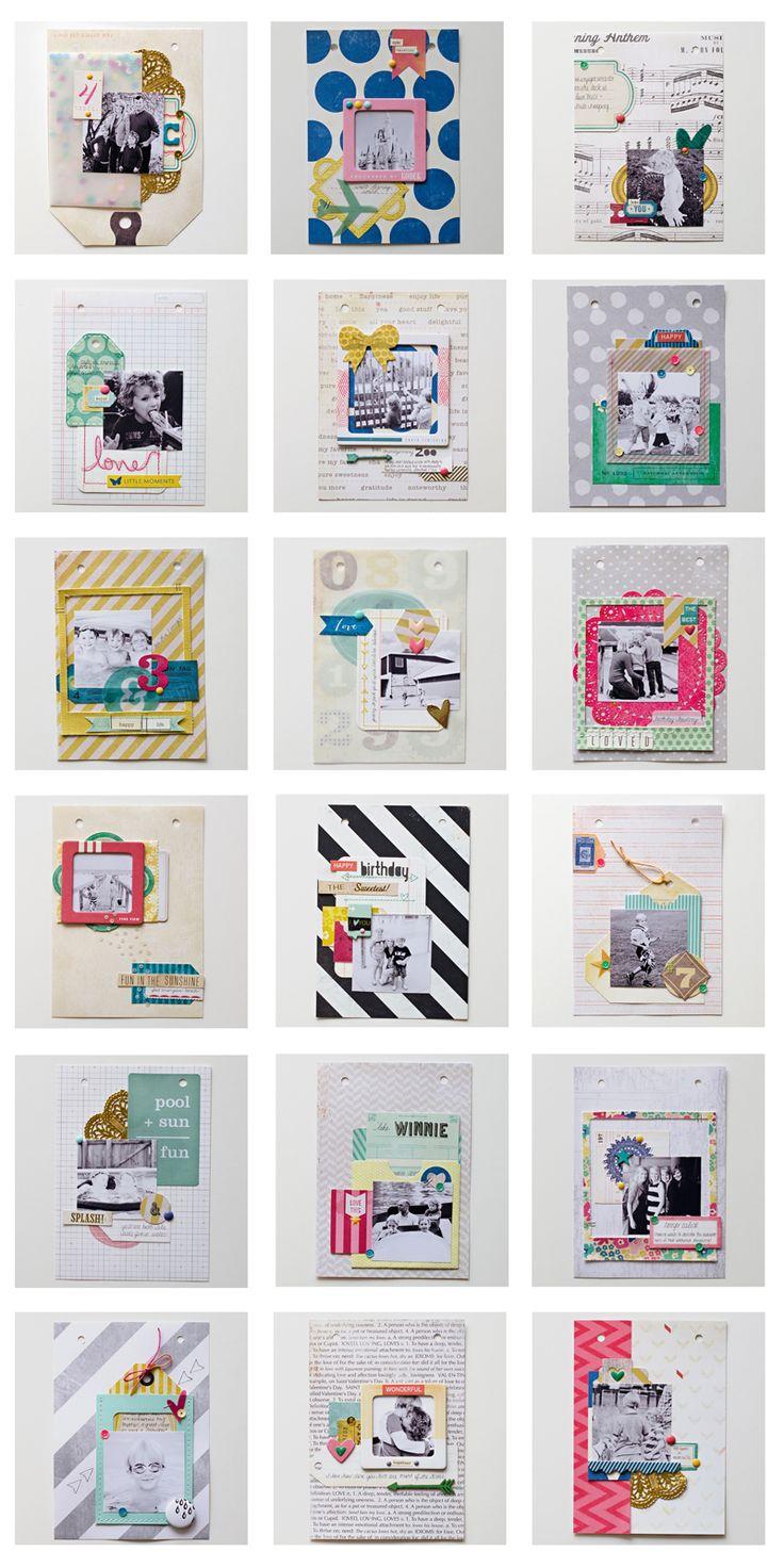 Scrapbook ideas mini books - Designer Spotlight With Paige Evans Amanda Caves Stamp Scrapbook Expo Best Of 2013 Mini Book