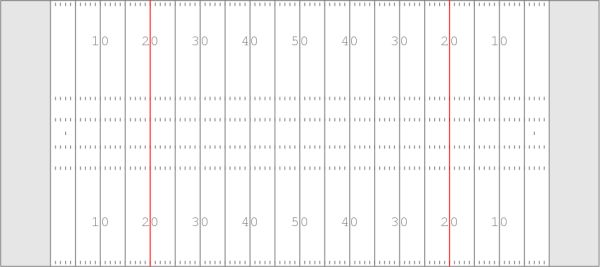 Free Printable Of A Football Field Diagram