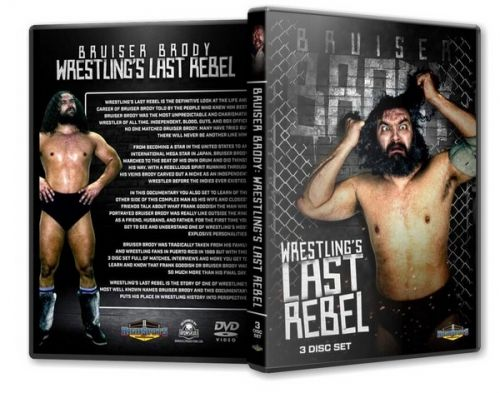 Bruiser Brody - Wrestlings Last Rebel Triple DVD Set