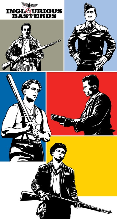 I would have loved to act in this movie: inglorious basterds.