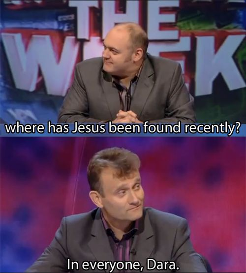 Hugh Dennis  and Dara O'Brien | Mock the Week