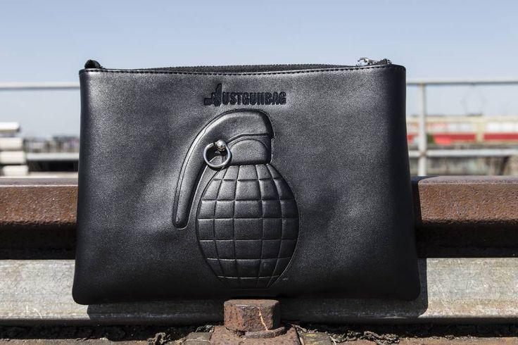 JGB Baby Clutch Grenade Black