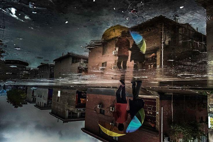 """Polluted mirror."" By Arek Rataj"