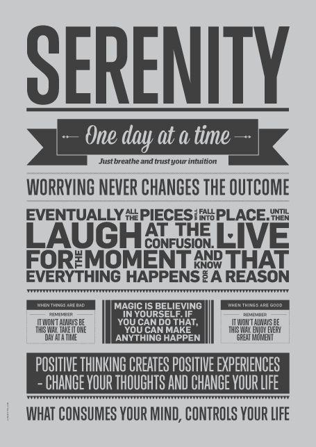 Serenity, Grey