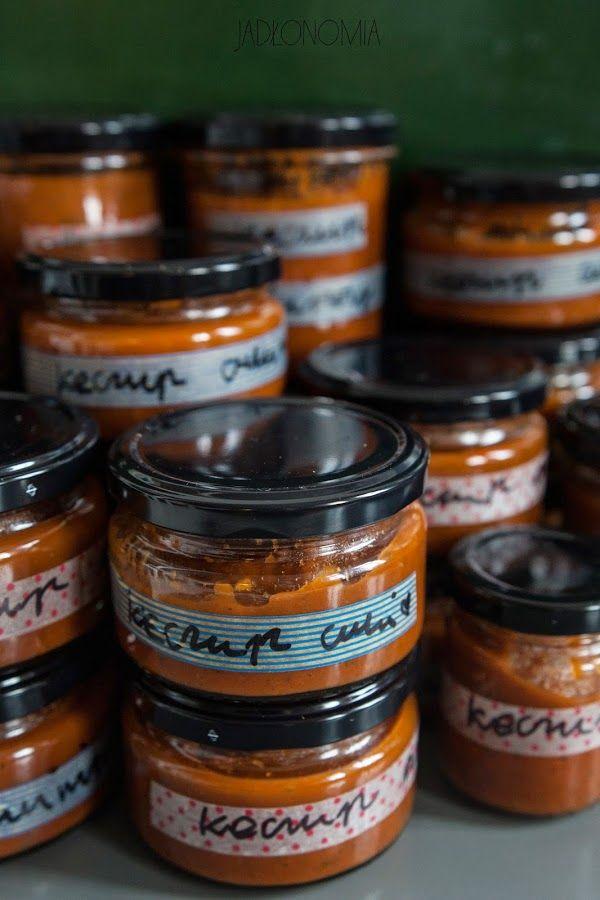 jadłonomia · roślinne przepisy: Keczup z cukinii