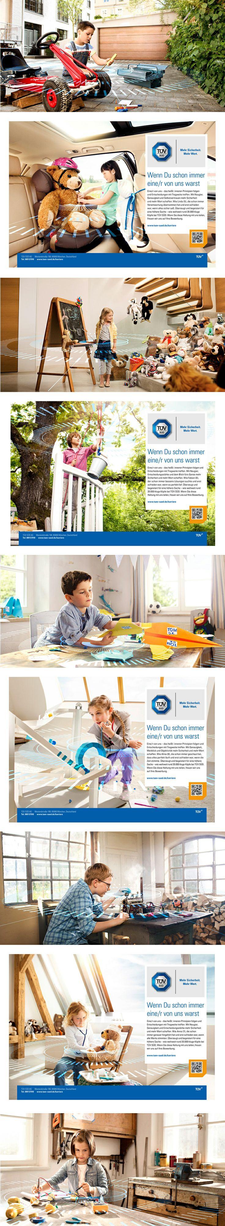 TÜV SÜD – Arbeitgeber-Kampagne Wenn du schon immer eine/r von uns warst, Schindler Parent #tuevsued #schindlerparent #arbeitgeberkampagne