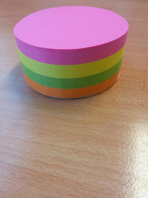 round post it notes