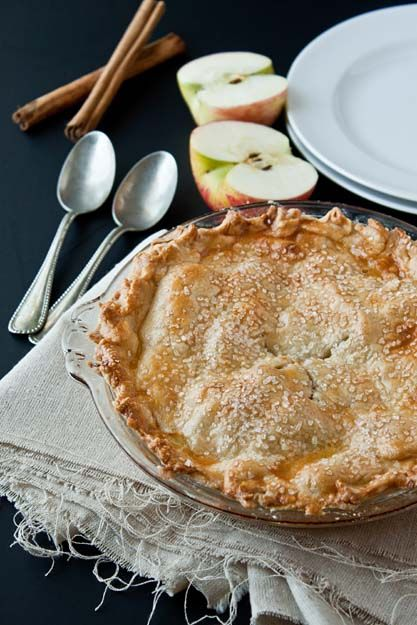 Homemade Apple Pie from @Gayle Robertson Robertson Ward For Two