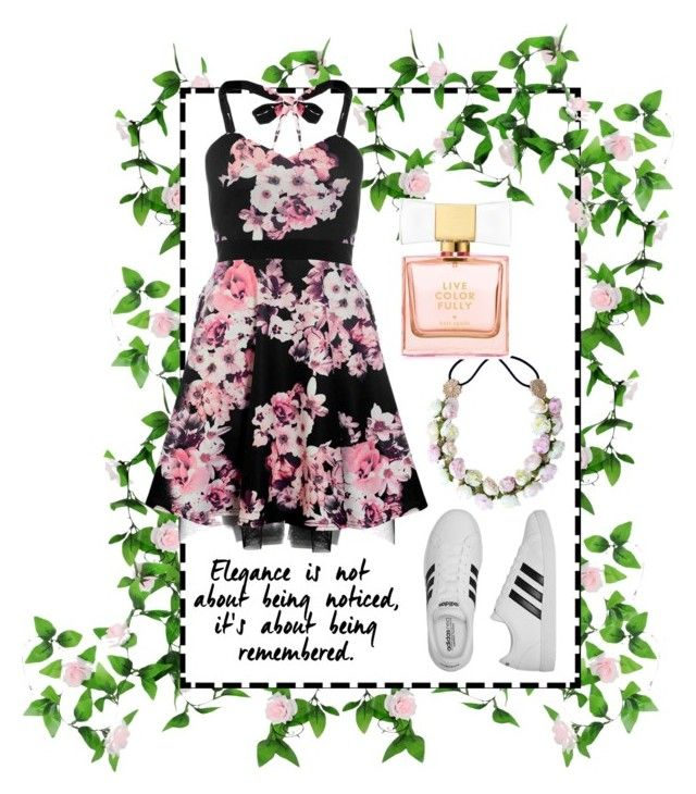 """""""Untitled #90"""" by amberekkel on Polyvore featuring Dorothy Perkins, adidas and Kate Spade"""