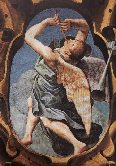 Leonello Spada - Angel with a Recorder 1615