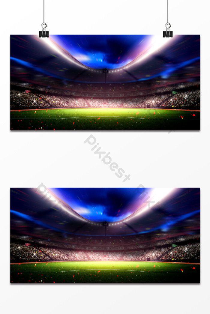 تصميم ملعب كأس العالم الخلفية خلفيات Psd تحميل مجاني Pikbest In 2020 Stadium Design World Cup Stadiums Background