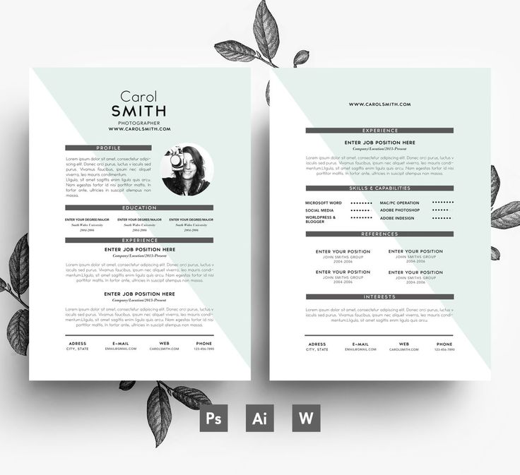 19 best Resumes images on Pinterest Sample resume, Resume - curriculum vitae template free