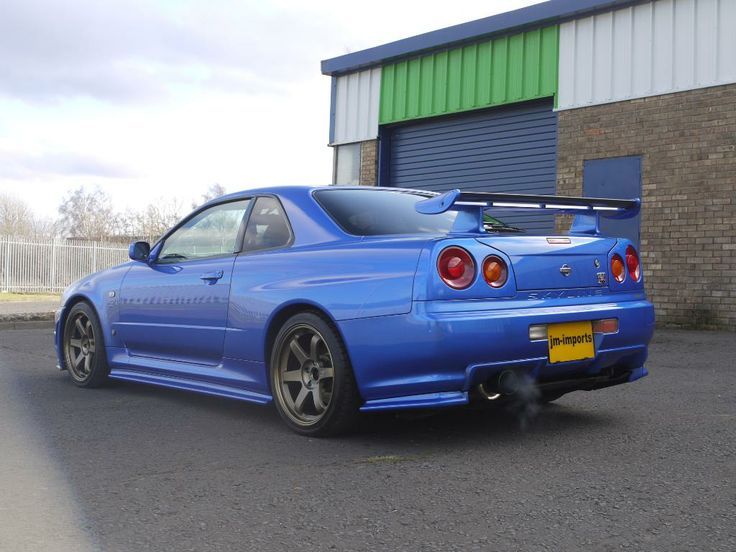 Bayside Blue R34 GTR Stunning condition 390BHP Nissan