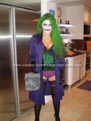 41 best joker costume ideas images on pinterest costume ideas coolest homemade jokeress halloween costume solutioingenieria Choice Image
