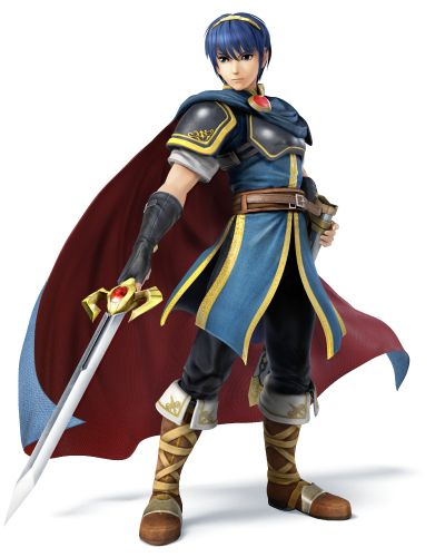 Marth Returns in Super Smash Bros for Wii U/3DS! :D
