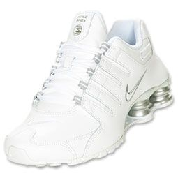 The Nike Shox NZ SI Women's Running Shoes feature the sleek look of the Shox you know and love, along with a faster, lighter body with a dynamic fit.  Hit the ground running in lightweight style with these advanced running shoes. The one piece upper and finger design along the midfoot hug the foot, providing a snug fit and ample support, while the gilly lacing system keeps the foot from sliding during movement. Nike Shox columns provide plenty of cushioning and shock absorption as y...