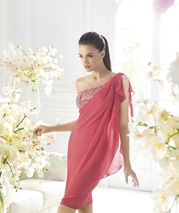 Moda perfecta y más: LA SPOSA Colección Vestidos de Cocktail 2013