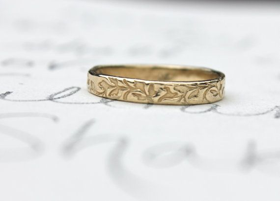 best 25 leaf wedding band ideas