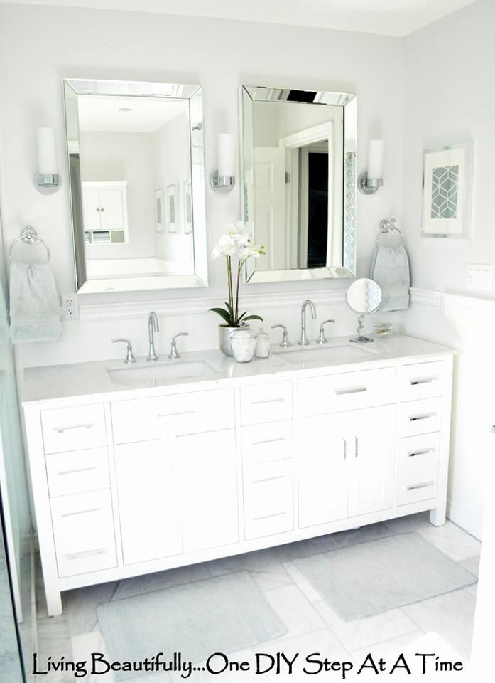Bathroom Vanity Mirror Ideas Lovely Are You Searching For Bathroom Mirror Ideas And Inspira In 2020 Master Bathroom Vanity White Vanity Bathroom Bathroom Mirror Design