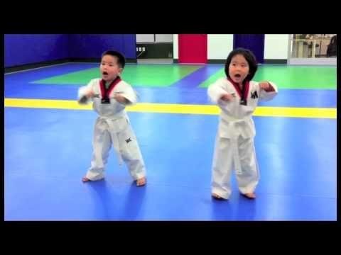 DM Taekwondo Babies (나의 첫 발차기) - YouTube