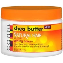Cantu Shea Butter Coconut Curling Cream $7.99 (No mineral oil, sulfates, parabens, silicone, phthalates, gluten, paraffin, propylene glycol, PABA or DEA) **Want to try for S**