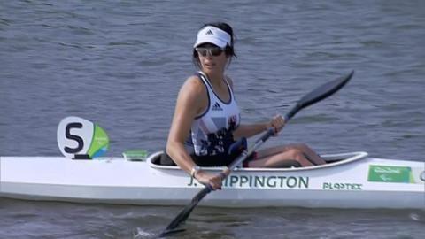 Jeanette Chippington - gold canoeing K1 200m