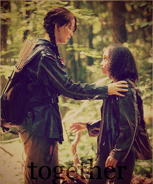 Katniss's connection to Rue. -The Hunger Games