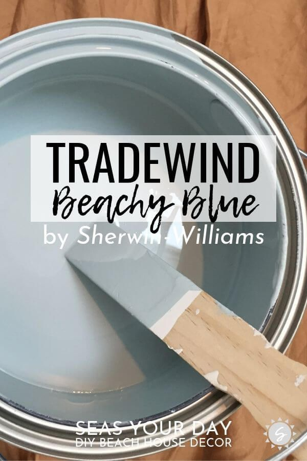 Sherwin-Williams Tradewind Paint Color – #