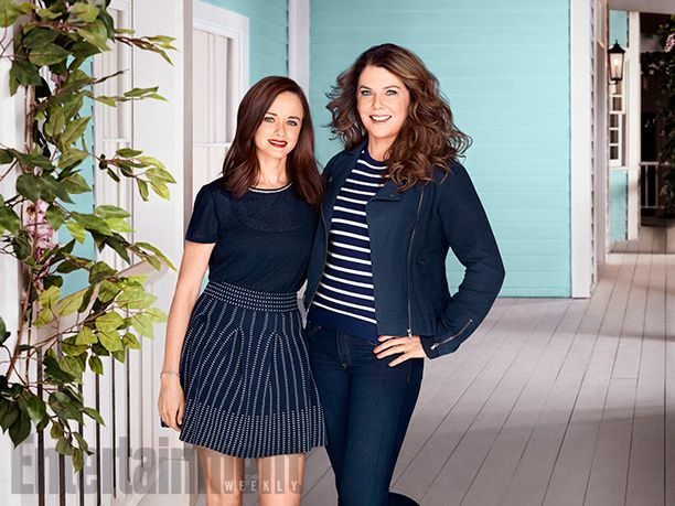 'Gilmore Girls': Exclusive First Look Inside Stars Hollow   Rory and Lorelai Return!   EW.com