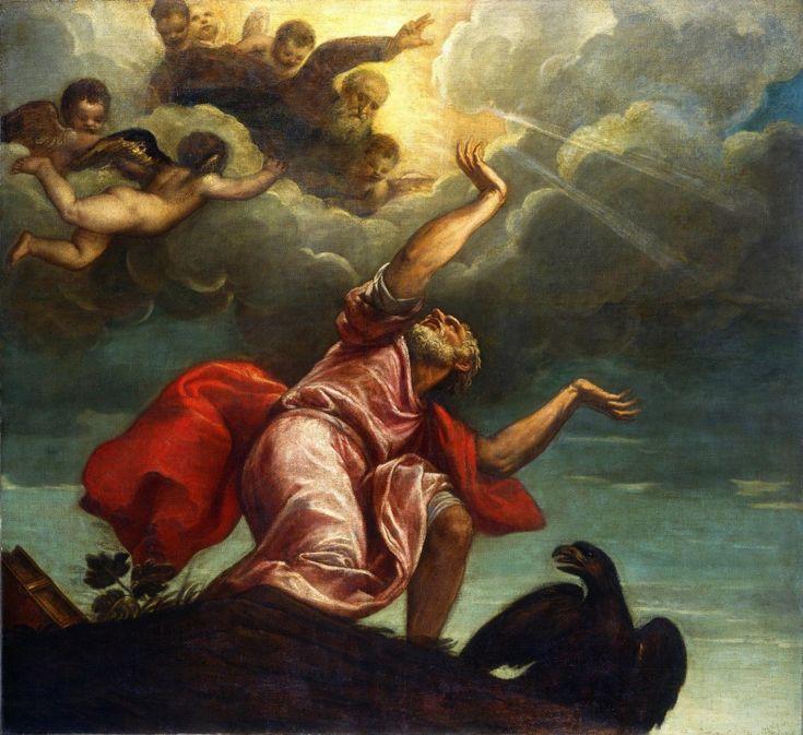 Tycjan, Święty Jan Ewangelista na Patmos
