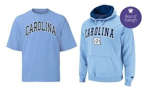 Groupon - UNC Apparel and Accessories at Johnny T-shirt (Half Off). Two Options Available. in Johnny T-shirt: The Carolina Store. Groupon deal price: $10