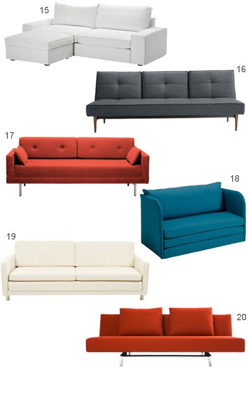 get the look 20 modern sleeper sofas stylecarrot - Modern Sleeper Sofa