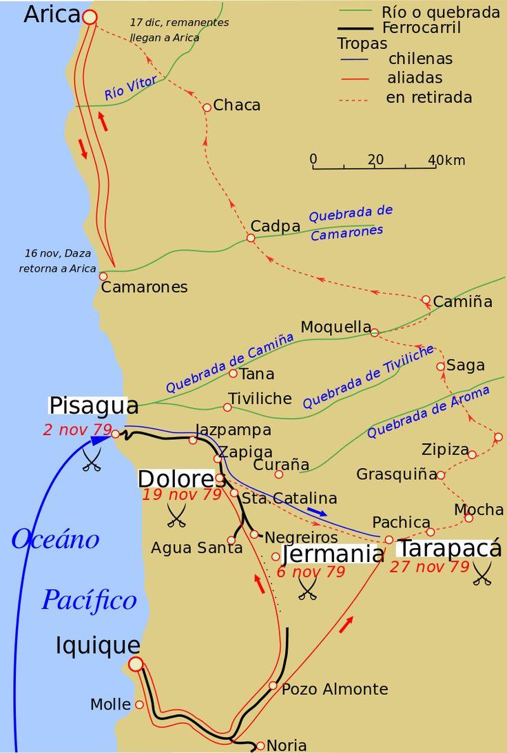 Tarapaca Campaign - Guerra del Pacífico - Wikipedia, la enciclopedia libre